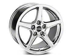 Chrome Saleen Style Wheels<br />('99-'04 Mustang)