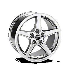 Chrome Saleen Style Wheels 2005-2009