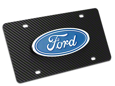 License Plates & Frames<br />('15-'19 F-150)