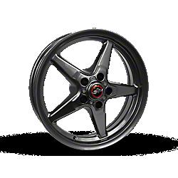Metallic Gray Race Star 92 Bracket Racer Wheels 2015-2020