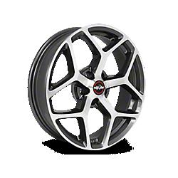 Metallic Gray Race Star 95 Recluse Wheels 2005-2009