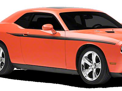 Camaro Rocker Panel & Side Stripes