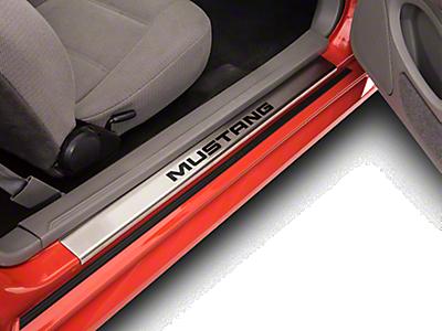 Door Sill Plates<br />('99-'04 Mustang)