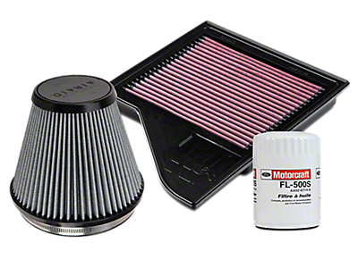Air, Oil, & Fuel Filters<br />('07-'13 Silverado 1500)
