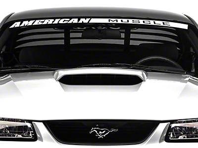 Mustang Hood Scoops 1999-2004