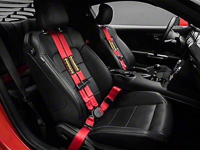 Mustang Seat Belts & Harnesses