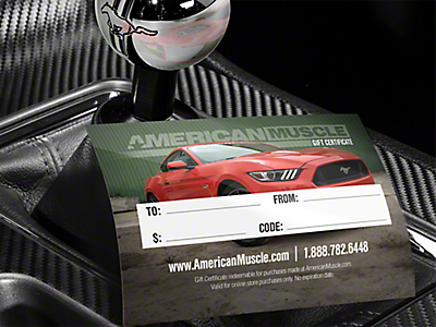 Gift Cards<br />('10-'14 Mustang)