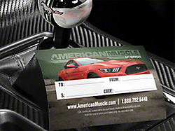 Gift Cards<br />('94-'98 Mustang)