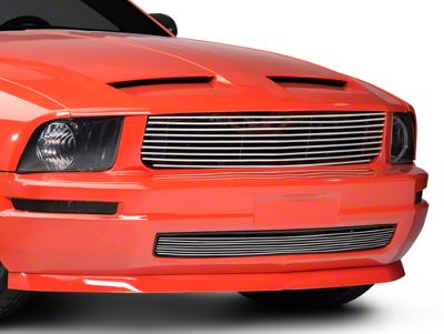 Modern Billet Retro Replacement Grille - Polished (05-09 V6)