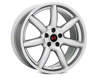 Silver Saleen Minilite Style Wheels<br />('15-'19 Mustang)