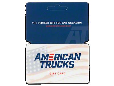 Silverado Gift Cards 1999-2006