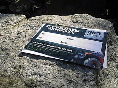 Gift Cards<br />('07-'18 Wrangler)