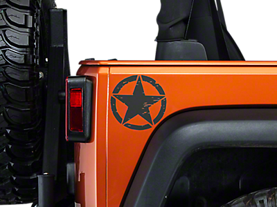 Stickers & Vinyl Decals<br />('07-'18 Wrangler)