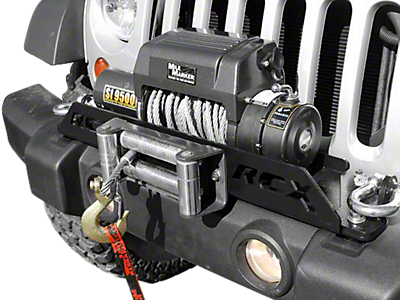 Winch Mounting Plates<br />('07-'18 Wrangler)