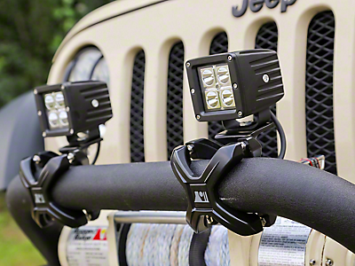 Bumper Light Mounts<br />('97-'06 Wrangler)