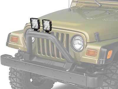 Bumper Mounted Lights<br />('97-'06 Wrangler)