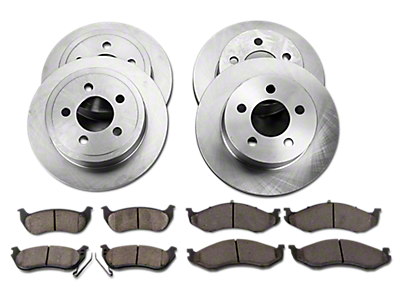 Brake Rotors & Drums<br />('97-'06 Wrangler)