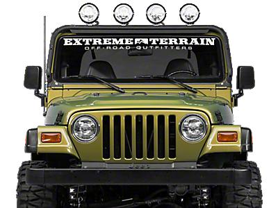 Jeep Light Bars & Mounts 1987-1995 YJ