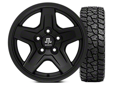 "33"" Wheel & Tire Kits<br />('87-'95 Wrangler)"
