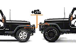 """5+"""" Lift Kits<br />('87-'95 Wrangler)"""