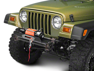 Winch Mounting Plates<br />('87-'95 Wrangler)